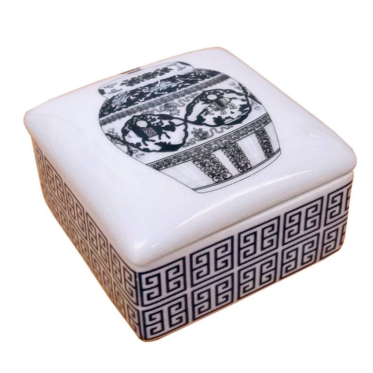 Porcelain Trinket Box
