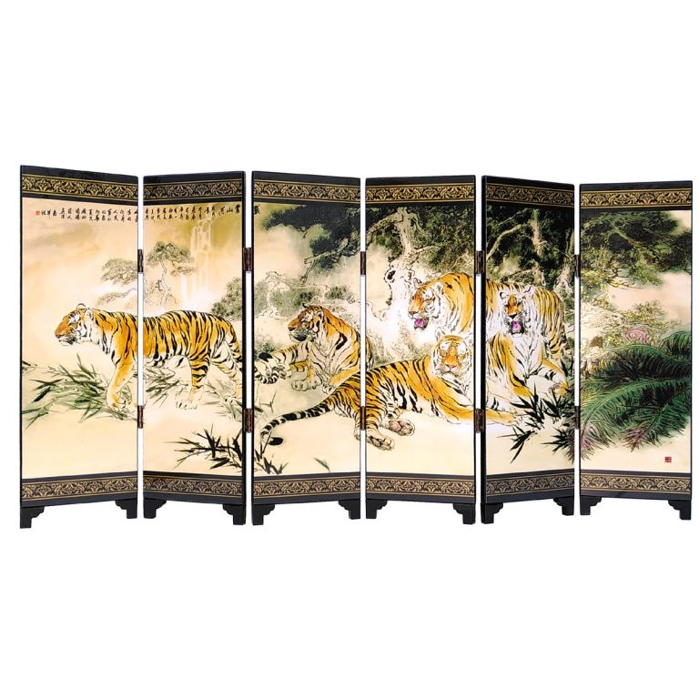 Fearsome Tigers Screen
