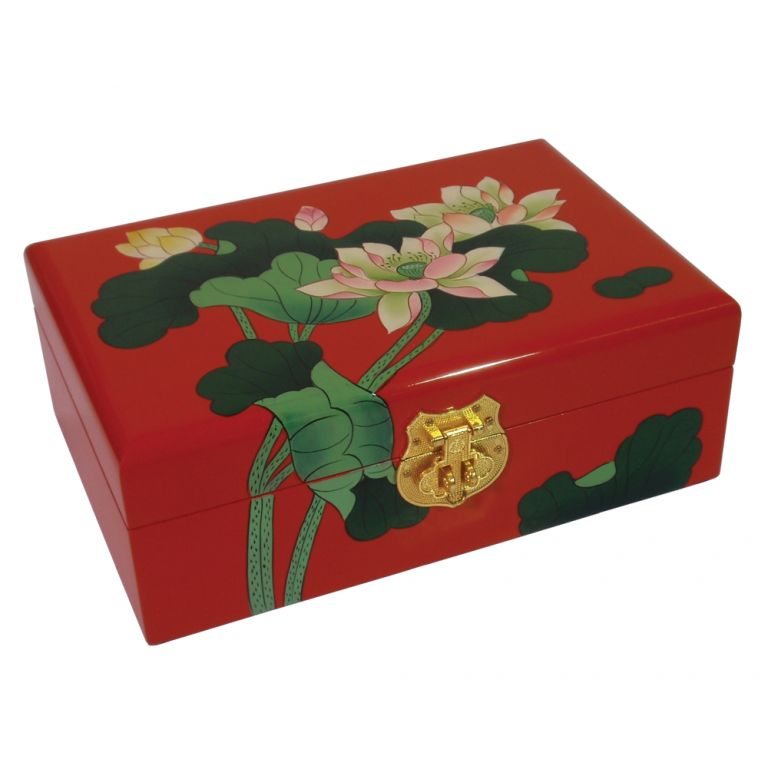 Lotus Flower Box