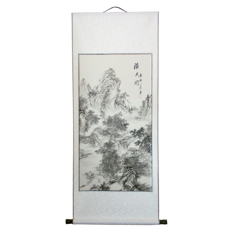 Chinese Landscape Scroll