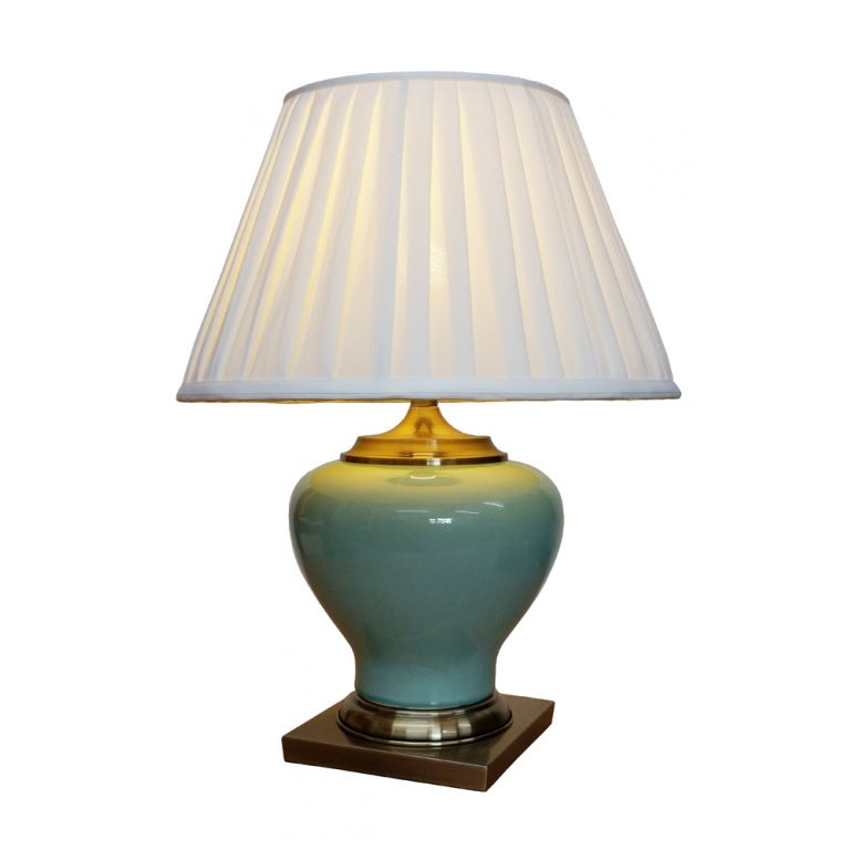 Green Meiping Vase Lamp