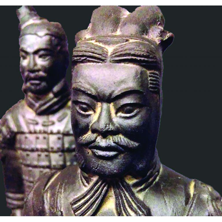 Set of 5 Terracotta Warriors