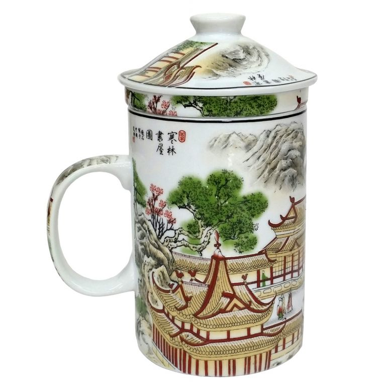 Palaces and Pagodas Infuser Mug