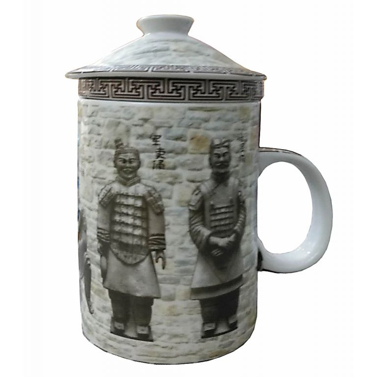 Terracotta Warriors Infuser Mug