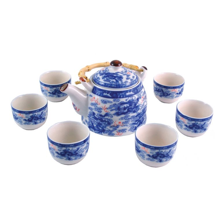 Nine Dragon Tea Set