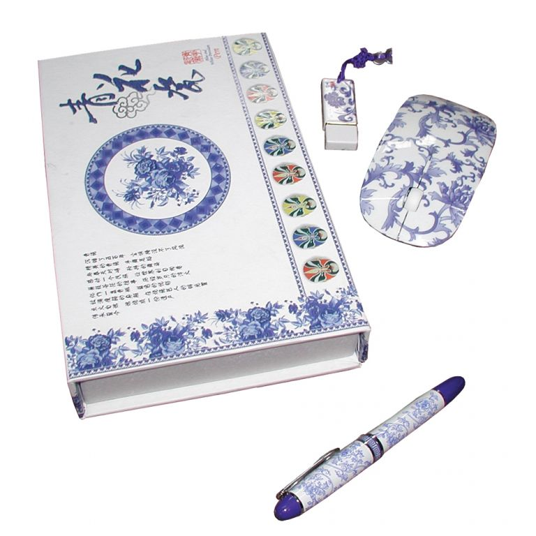 Porcelain Office Set
