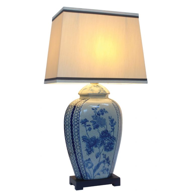 Floral Sprays Lamp