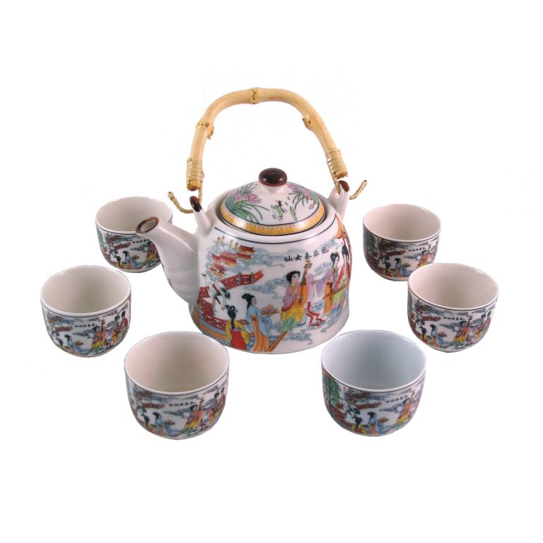 Traditional Musicians Teaset