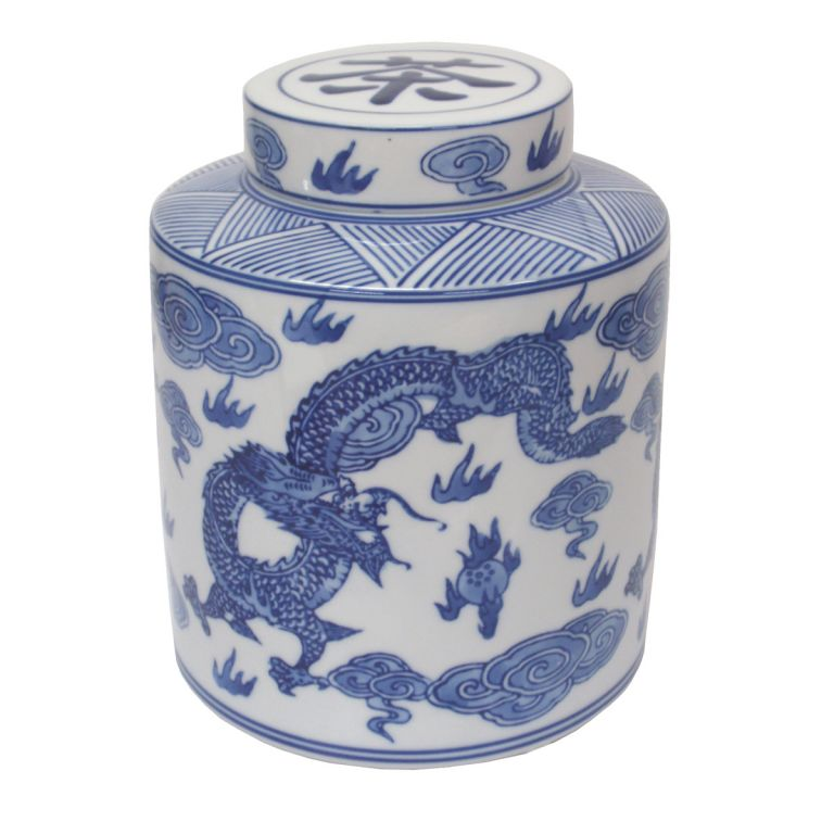Dragon Tea Caddy