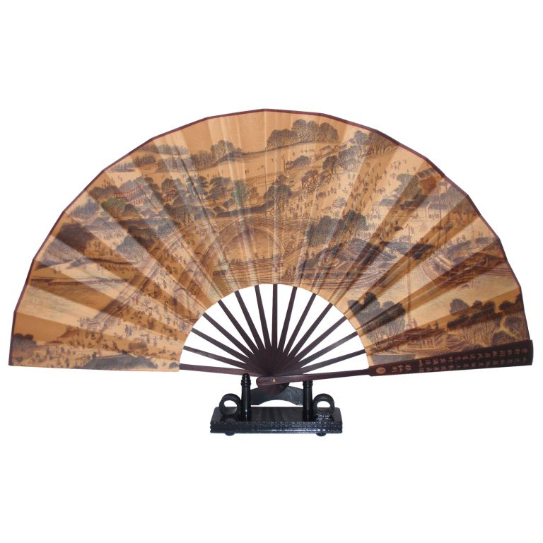 Qingming Scene Fan