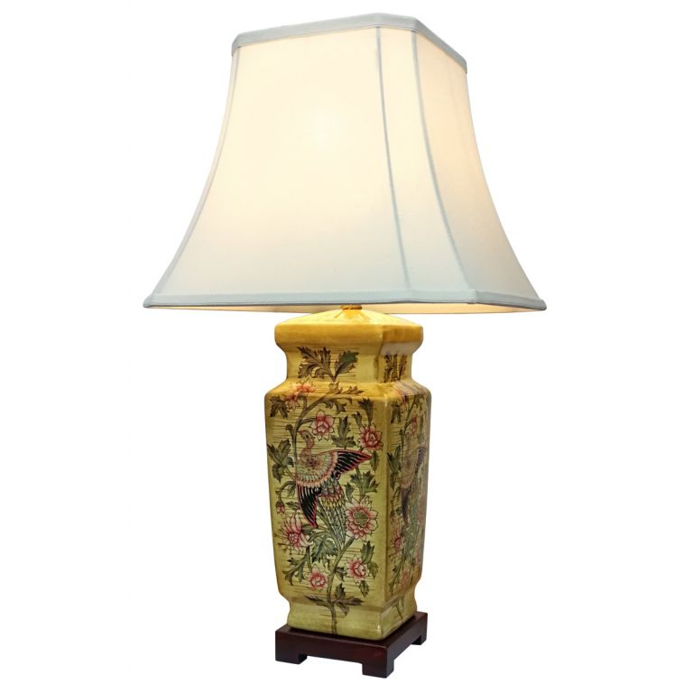 Golden Pillar Lamp