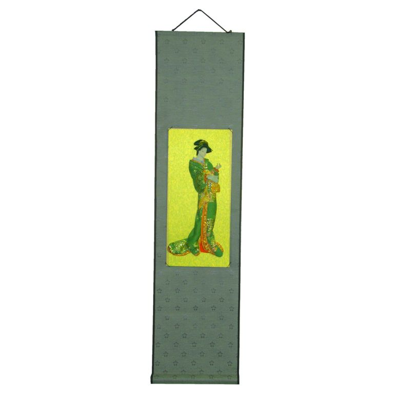 Green Lady Scroll