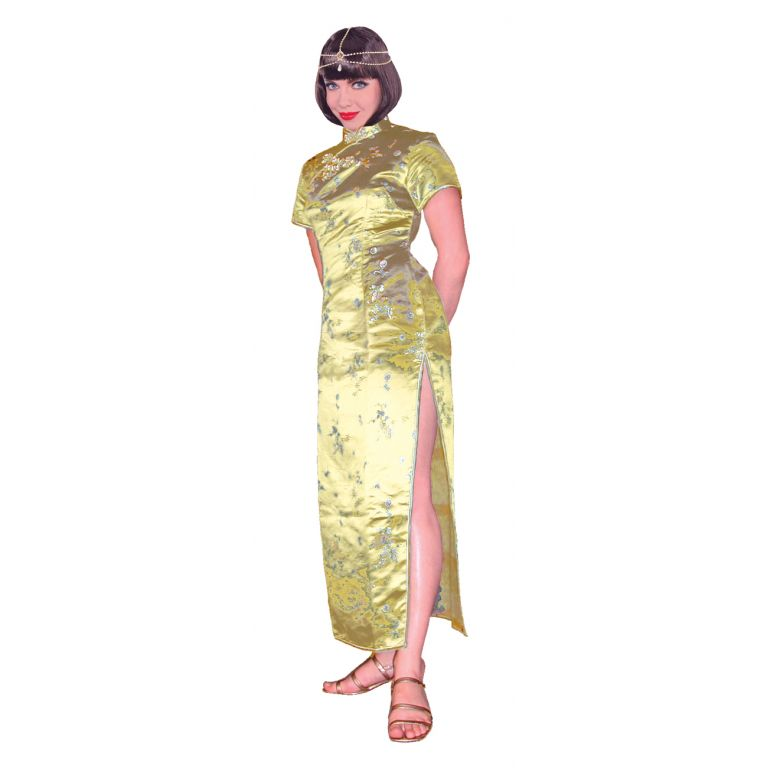 Brocade Cheongsam Dress