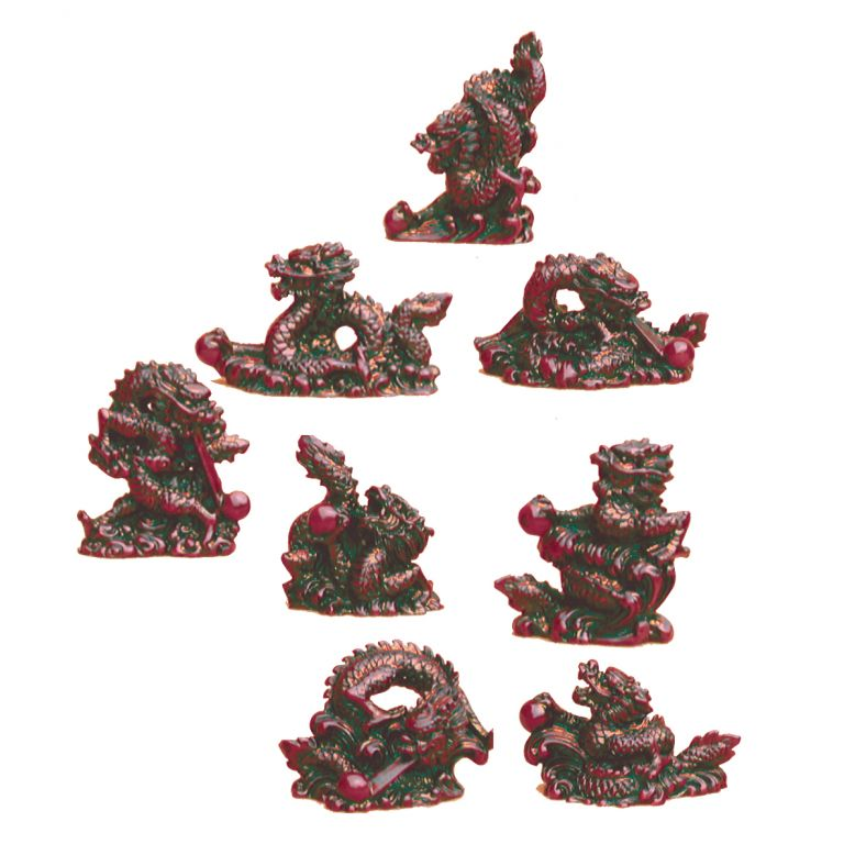 Set of Eight Dragons