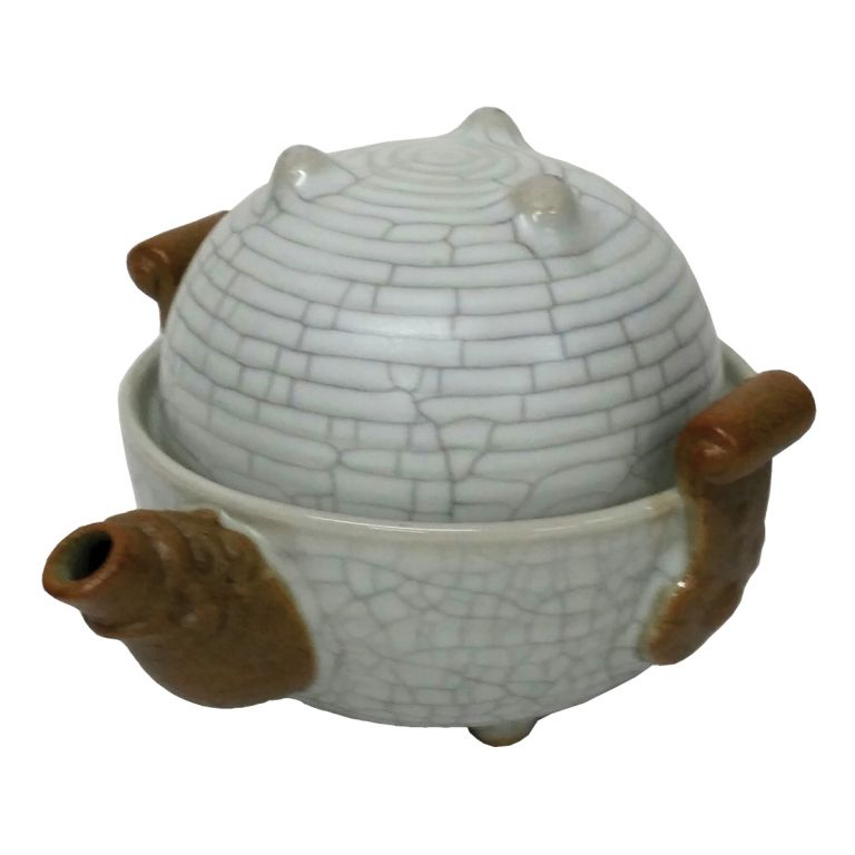 Dragon Egg Teaset for One