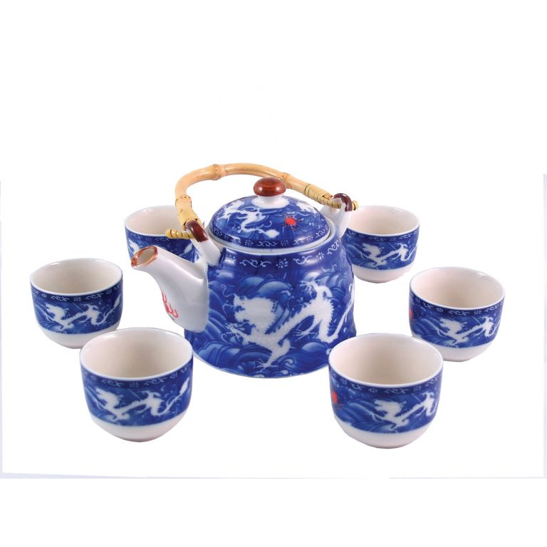 Double Dragon Tea Set