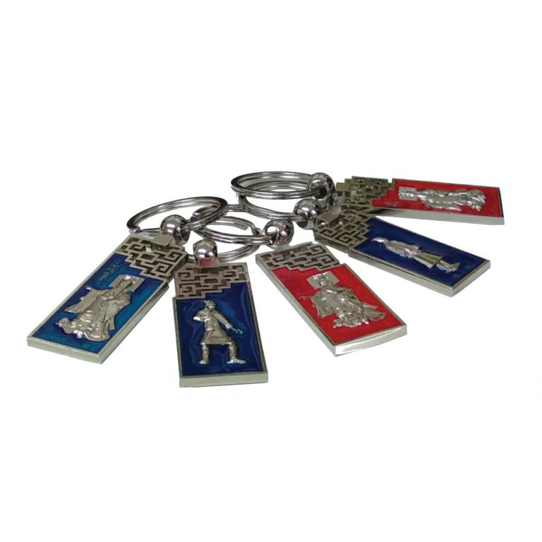 Terracotta Warrior Keyrings